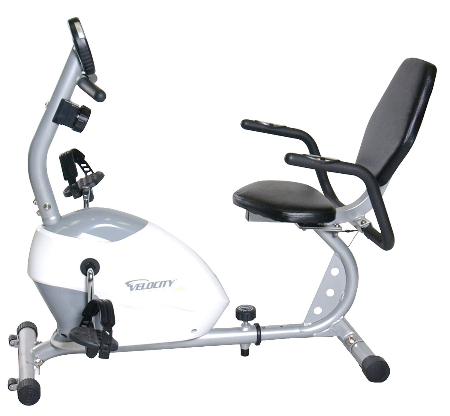 Velocity Fitness Magnetic Recumbent Exercise Bike - view number 3