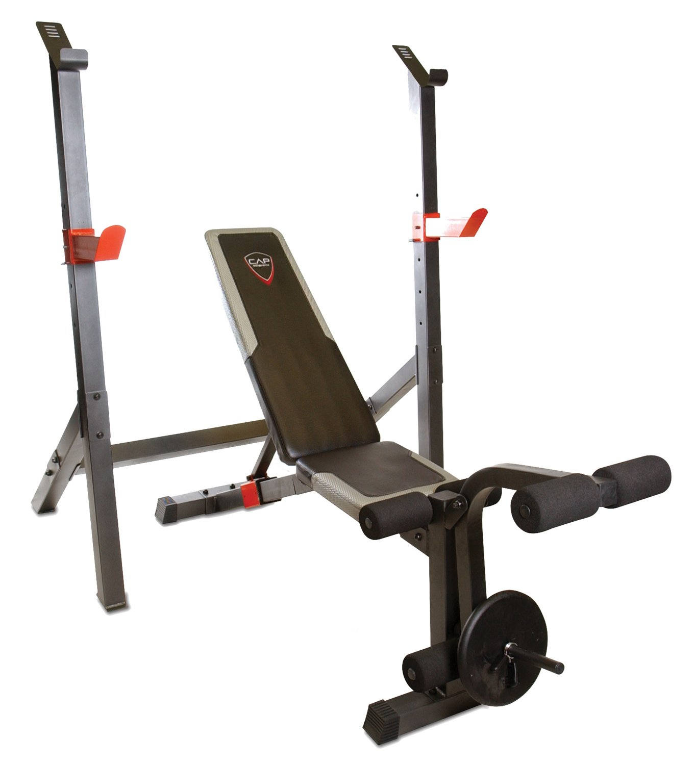 Display Product Reviews For CAP Barbell 2 Piece Deluxe Olympic Bench