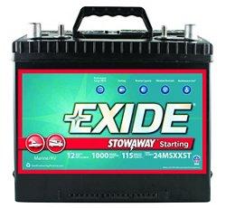 Exide Stowaway Marine Starting Battery
