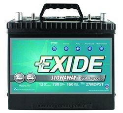 Exide Stowaway Dual-Purpose Marine Battery