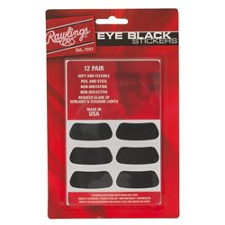 Eye Black Stickers 12-Pack
