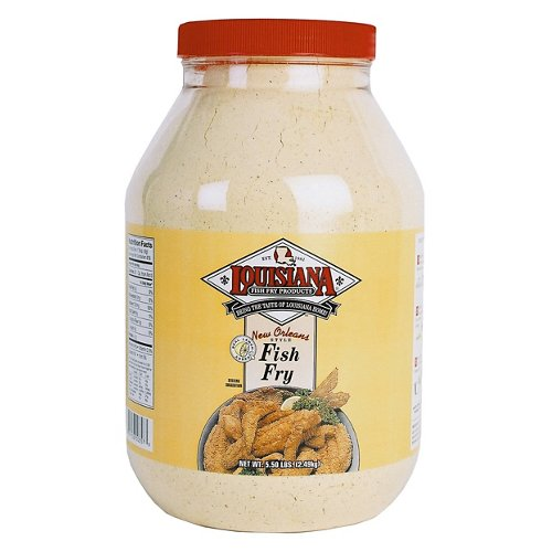 Louisiana Fish Fry Products 1-Gallon New Orleans Style Fish Fry with Lemon