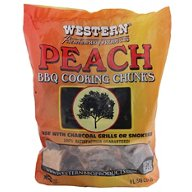 Western Peach BBQ Cooking Chunks