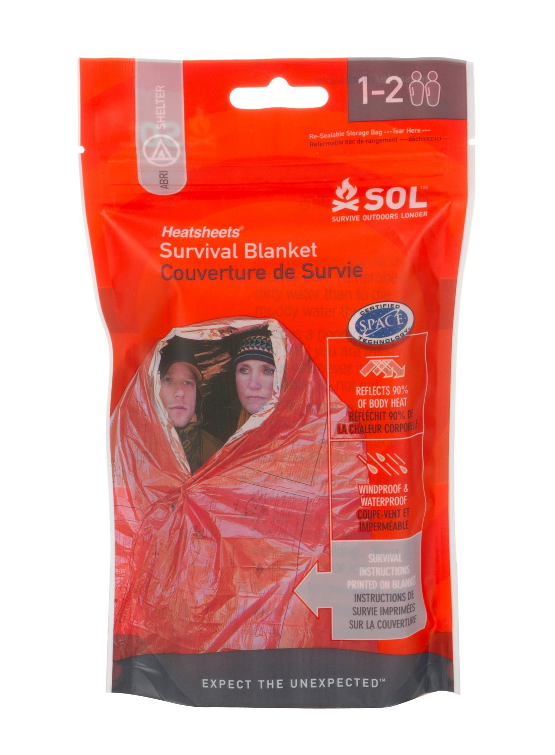 Display product reviews for SOL Survival Blanket