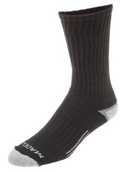 Magellan Outdoors Casual Crew Socks 3 Pack