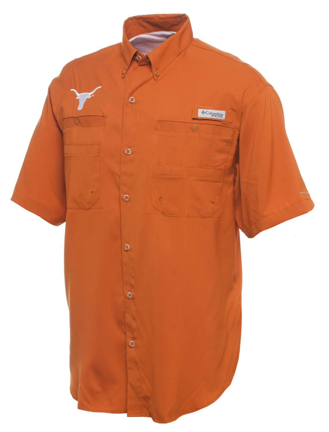 c2eebcb2f41949 Display product reviews for Columbia Sportswear Men s University of Texas  Collegiate Tamiami Short Sleeve Shirt