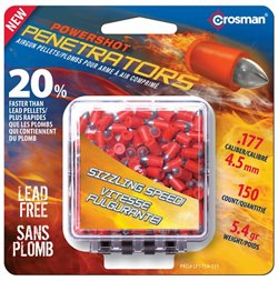 Crosman .177 5.4-Grain Fast Flight Penetrator Airgun Pellets