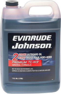 Evinrude Johnson Premium TC-W3® Mineral Formula
