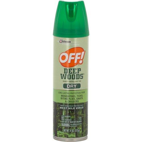 OFF! Deep Woods 4 oz. Dry Aerosol Mosquito Repellent