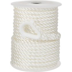3/8 in x 100 ft Twisted 3-Strand Anchor Line
