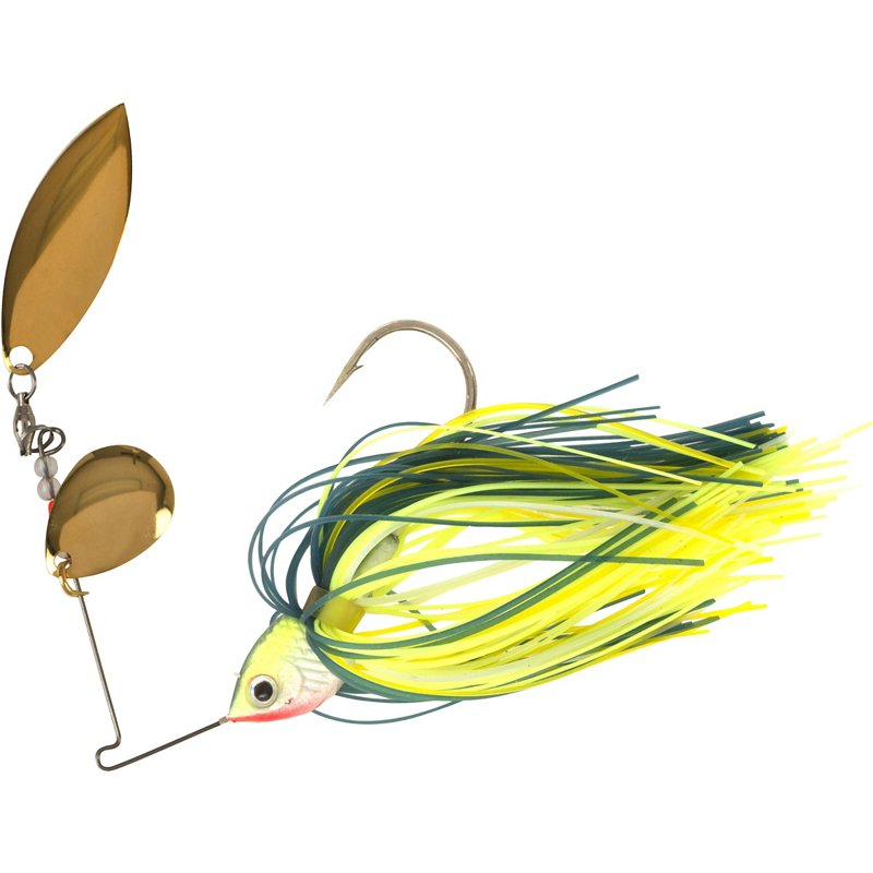 H2O XPRESS Premium 1/2 oz. Spinnerbait Chartreuse – Fresh Water Wire Baits at Academy Sports