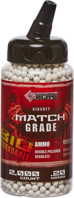 Crosman Biodegradable 6 mm Airsoft BBs 2,000-Pack