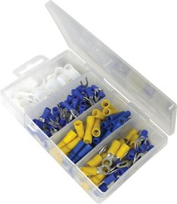 Marine Raider 112-Piece Electrical Terminal Kit with Storage Box