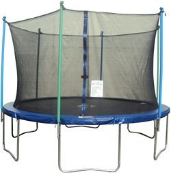 JumpZone 14' Round Trampoline with Enclosure