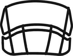 Riddell S2B Football Face Mask