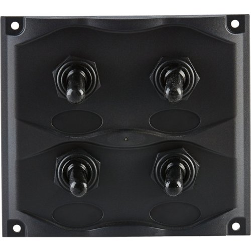 Marine Raider Electrical 4-Gang Switch Panel