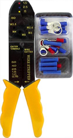 Marine Raider Terminal Kit with Multipurpose Wire Tool