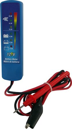 Marine Raider Battery Meter/Alternator Checker