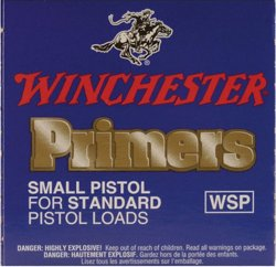 Winchester Small Regular Pistol Primers