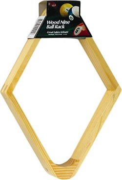 Fat Cat 9-Ball Billiard Rack