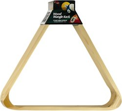 Fat Cat Wood Triangle Billiard Rack