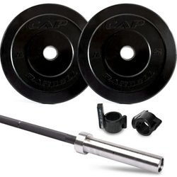 Bumper Plates and Training Bar