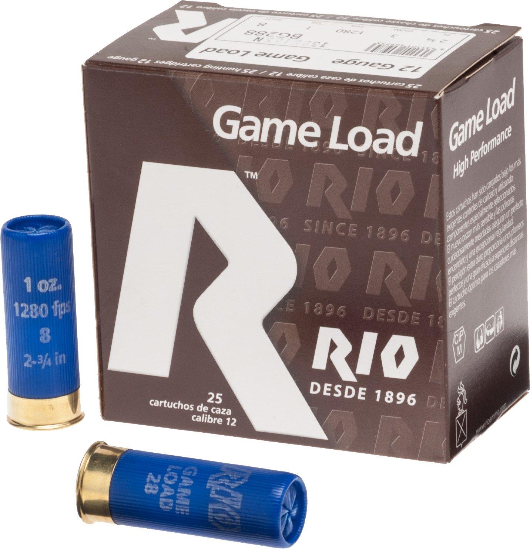 Rio Game Load 12 Gauge 8 Shotshells