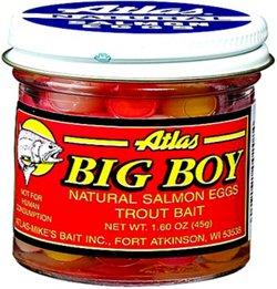 Atlas Big Boy 1.6 oz. Assorted Salmon Eggs