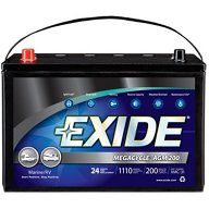 Exide Megacycle AGM Dual-Purpose Marine Battery