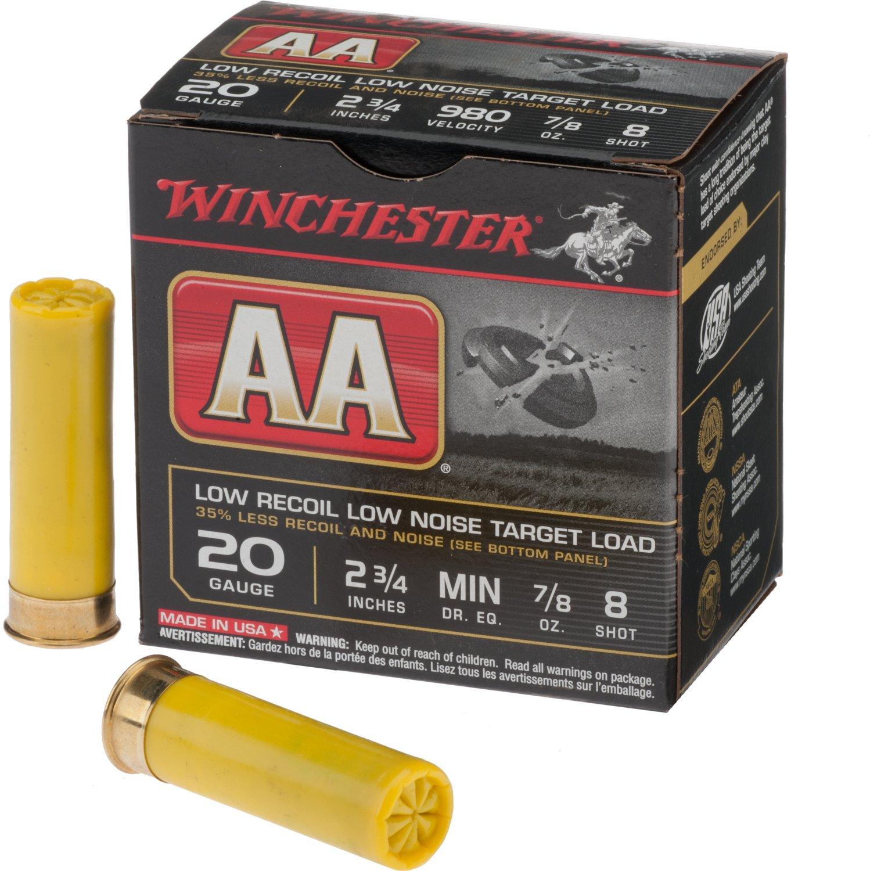 Winchester AA Low Recoil 20 Gauge Shotshells