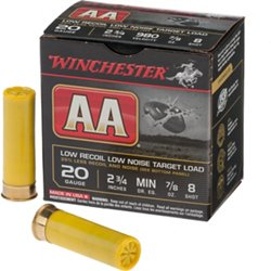 AA Low Recoil 20 Gauge Shotshells