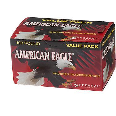 American Eagle® 9mm Luger 115-Grain Centerfire Pistol Ammunition