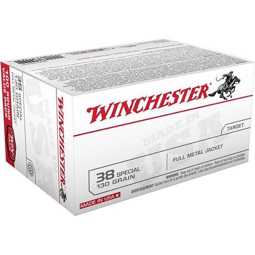 Winchester .38 Special 130-Grain Centerfire Handgun Ammunition