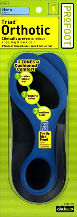 Profoot Men's Triad® Orthotic Insoles
