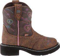 Justin® Girls' Gypsy™ Distressed with Twinkle Lights Western Boots