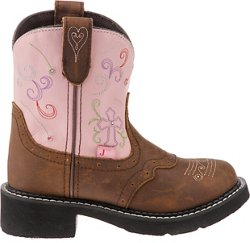 Justin Girls' Bay Apache with Twinkle Lights Casual Western Boots