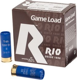 Game Load 12 Gauge 8 Shotshells
