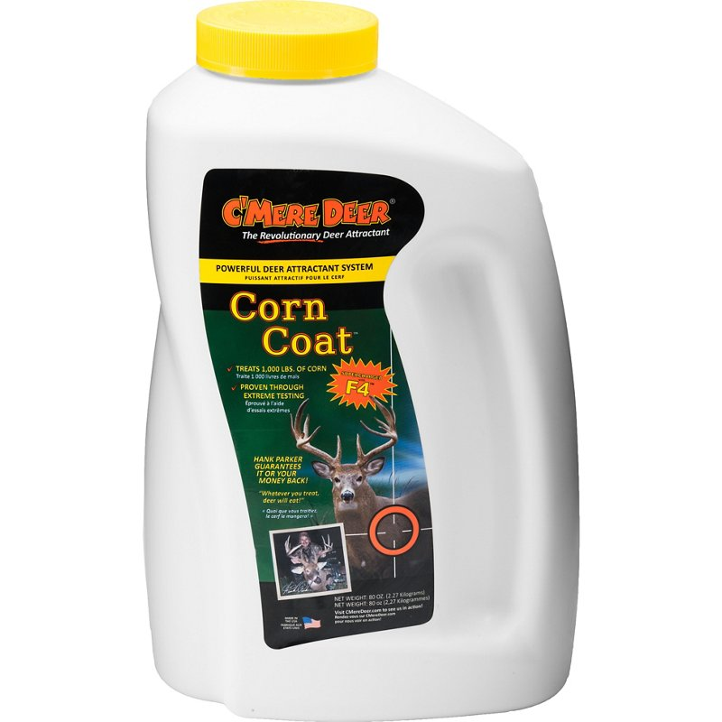 C'Mere Deer Corn Coat 80 oz. Deer Attractant - Game Feed And Supplements at Academy Sports thumbnail