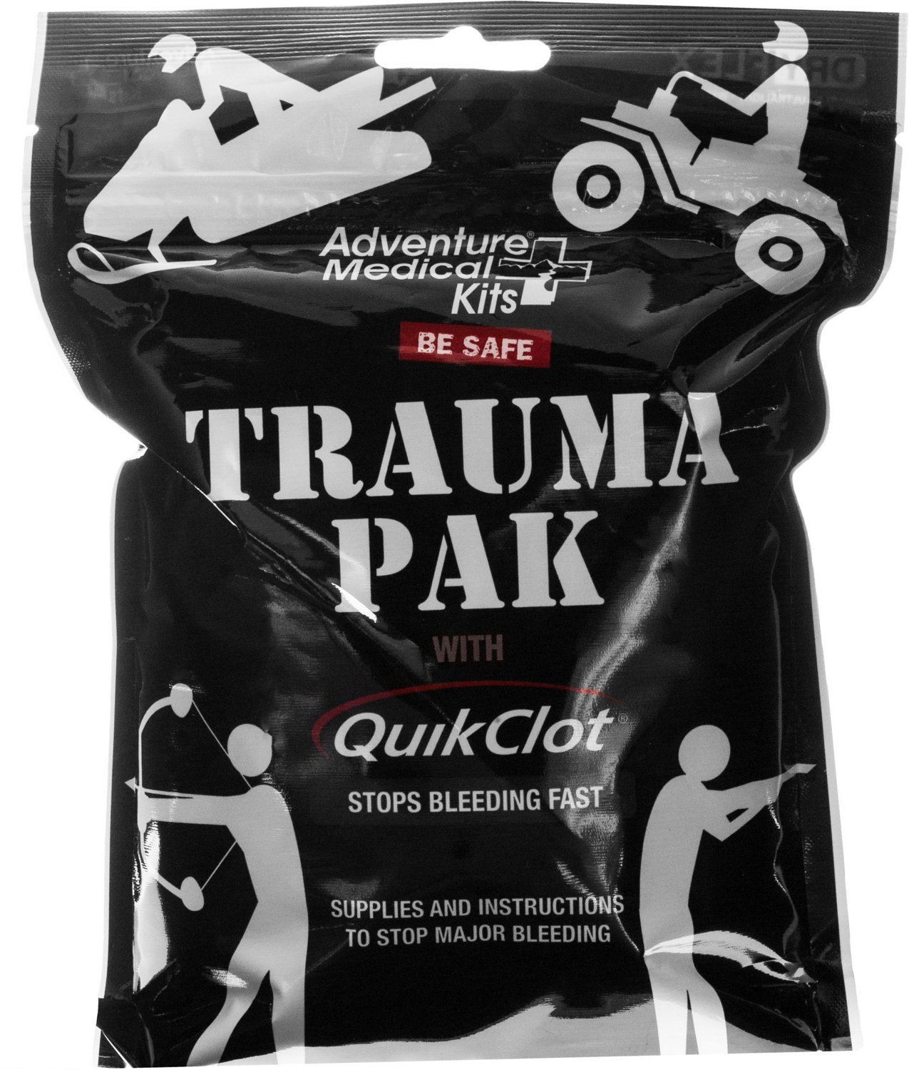 Display product reviews for Adventure Medical Kits Trauma Pak with QuickClot