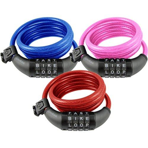 WordLock® 10mm 5' Combination Bike Lock