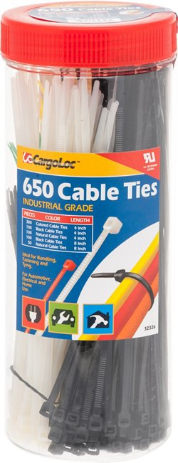 CargoLoc Cable Ties 650-Pack