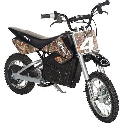 Razor® Adults' Dirt Rocket MX500 Camo Electric Dirt Bike