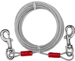 Aspen Pet 20' Containment Medium Dog Tie-Out Cable