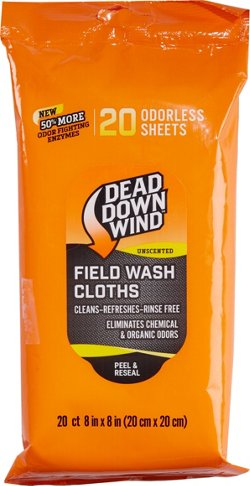 Dead Down Wind Field Wash Cloths 20-Pack
