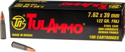 TulAmmo 7.62mm x 39mm Centerfire Rifle Ammunition
