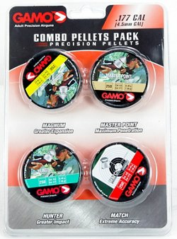 Gamo .177 Performance Airgun Pellets 4-Pack