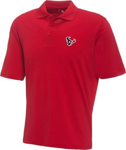 Men's Houston Texans Piqué Xtra-Lite Polo Shirt