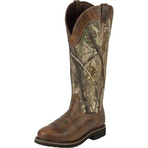 Justin Men's Stampede Waterproof Snake Boots