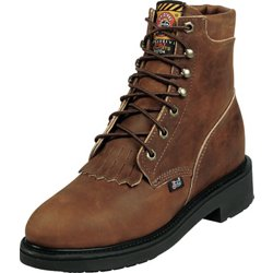 Women's Aged Bark Lace Up Work Boots