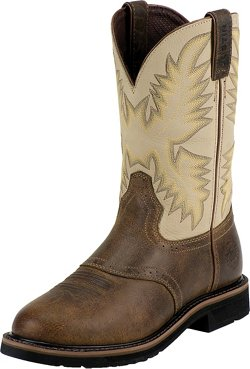 Justin Women's Stampede™ Steel Toe Work Boots